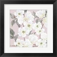 Framed White Flower on Nude 2