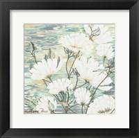 White Water Flower 3 Framed Print