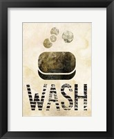 Glitz Bath 01 Framed Print