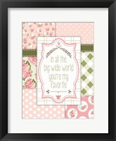 Vintage Romance 04 Framed Print
