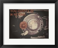 Be In Pictures Cinema Pair 2 Framed Print