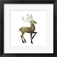 Glimmer Deer 1 Framed Print