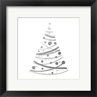 Silver Trees 3 Framed Print