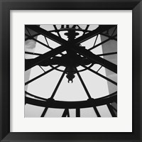 Framed Tick Tock