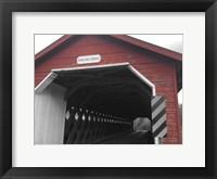 Framed Paper Mill Bridge