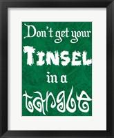 Framed Tinsel Tangle