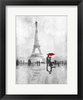 Framed Paris In The Rain