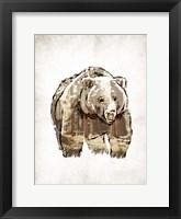 Butch in Woods Framed Print