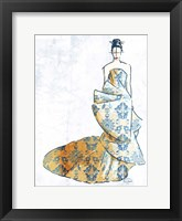 Oriental Dress Framed Print