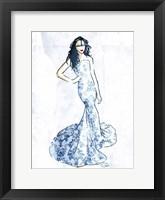 Oriental Dress Mate Framed Print