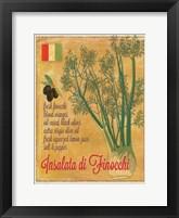 Framed Insalata di Finocchi