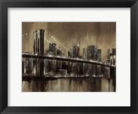 Framed Brooklyn After Dark