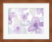 Framed Lilac Garden