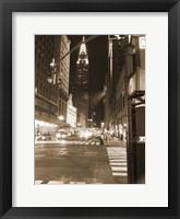 Framed Streets Of NY