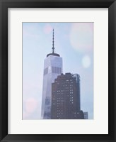 Framed One World Trade NY