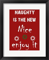 The New Nice Framed Print