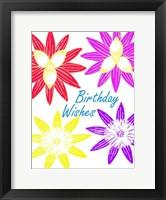 Birthday Wishes Framed Print
