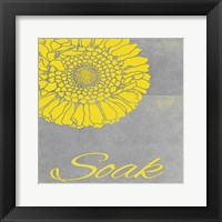 Spa Soak YG Framed Print