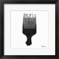 Framed Afro Pick
