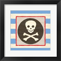 Framed Pirate Stripe
