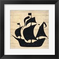 Framed Ship