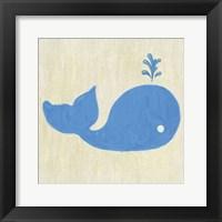 Framed Whale