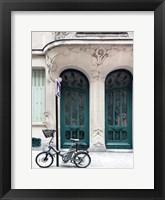 Framed Art Nouveau Door