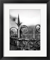 Framed Fence bw 3