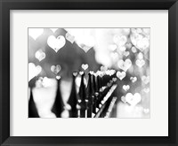 Framed Fence Hearts