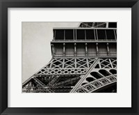 Framed Eiffel Sepia 3