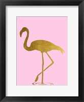 Framed Flamingo