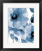 Raining Flowers Framed Print