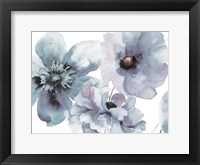 Framed Flowering Blue Hues