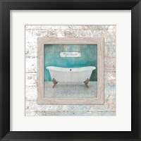 Framed Framed Aqua Bath