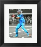 Framed Cam Newton 2015 Spotlight Action