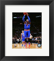 Framed Carmelo Anthony 2015-16 Action