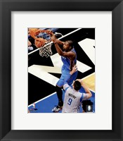 Framed Kevin Durant 2015-16 Action