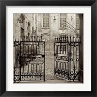 Framed Avignon II