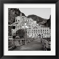 Framed Amalfi Pier I