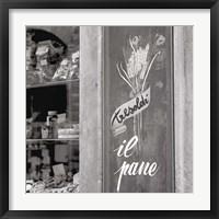 Framed Il Pane I
