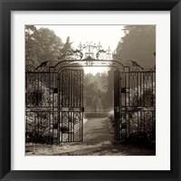 Framed Hampton Gates III