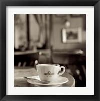 Framed Tuscany Caffe IV