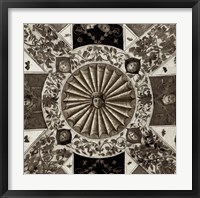 Giardini Italiano VII Framed Print