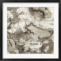 Framed La Mappa II