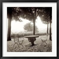 Framed Fiesloe Giardini I