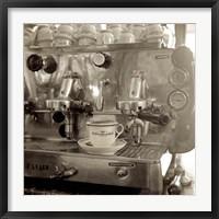 Framed Tuscany Caffe I