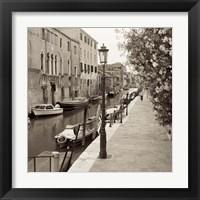 Venezia V Framed Print