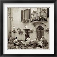 Framed Tuscany Caffe VI