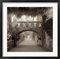 Giardini Italiano VI Framed Print