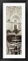 Framed Orvieto Caffe I